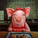 Gingerbread Pigs Plakater af Lucia Heffernan