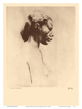 Chinese Hawaiian 2 - Nude Study - from Etchings and Drawings of Hawaiians Poster di John Melville Kelly