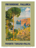 For Sunshine Majorca (Mallorca) Spain - Mediterranean Balearic Islands Affiches par Erwin Hubert