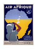 Air Afrique Giclée-Druck