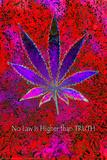 No Law Higher Than Truth Poster by Matthew de la Tour