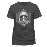 Star Wars: The Last Jedi - Captain Phasma Badge T-skjorter