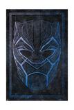 Batik Black Panther Kunstdruck
