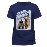 Star Wars - Droids Retro Badge T-skjorte