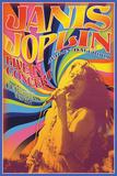 Janis Joplin - Concert Print by Matthew de la Tour