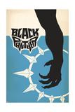 Vintage T'Challa Plakat
