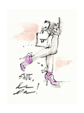 Shoes La La Stampe di Megan Swartz