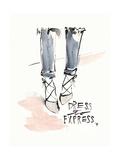 Dress to Express Poster di Megan Swartz