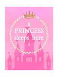 Princess Sleeps Premium Giclee-trykk av Bella Dos Santos