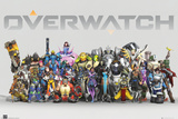 Overwatch - Anniversary Line Up Prints