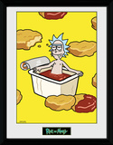 Rick & Morty - McNugget Sauce Collector Print