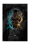 Deco Black Panther Poster