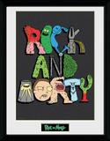 Rick & Morty - Letters Samletrykk