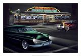 Diners and Cars II Posters tekijänä Helen Flint