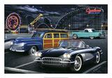 Diners and Cars III Posters tekijänä Helen Flint