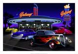 Diners and Cars VII Posters tekijänä Helen Flint