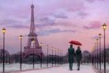 Red Umbrella Kunstdrucke von Chris Consani