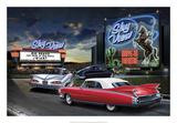 Diners and Cars IV Poster tekijänä Helen Flint