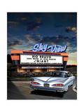 Skyview Drive In Poster tekijänä Helen Flint