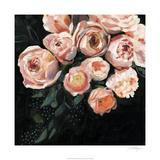 Peachy Blooms II Spesialversjon av Victoria Borges