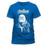 Avengers: Infinity War - Blue Thanos T-skjorter