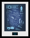 Ready Player One - 101 Blueprint Lámina de coleccionista