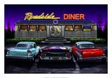 Diners and Cars VIII Julisteet tekijänä Helen Flint