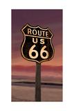 U.S. Route 66 Poster von Chris Consani