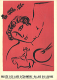 The Painter In Rose Edizioni premium di Marc Chagall