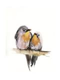 Bird Couple Affiches par Sophia Rodionov