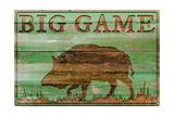 Big Game Boar Prints by Cora Niele