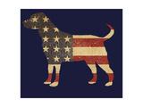 American Dog Posters par Jim Baldwin