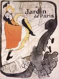 Jane Avril Litografía por Henri de Toulouse-Lautrec
