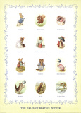 The Characters of Beatrix Potter Litografi av Potter, Beatrix