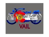 Colorado Motorcycle Art par Jim Baldwin