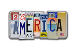 America License Plate Posters par Jim Baldwin