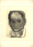 Charles Baudelaire Litografi av Henri Matisse