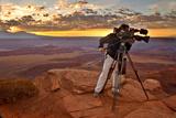Cameraman Photographic Print by Peter Kunasz