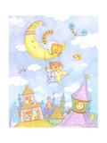 Moon Swing Posters by Viv Eisner