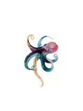 Octopus in Color Kunstdruck von Sophia Rodionov