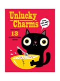 Unlucky Charms Posters por Michael Buxton