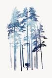 Winter Wolf Posters av Robert Farkas