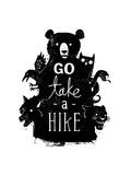 Go Take a Hike Posters por Michael Buxton