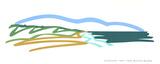 Seascape(No text) Serigrafi (silketryk) af Tom Wesselmann