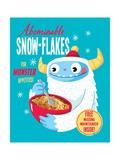 Abominable Snowflakes Julisteet tekijänä Michael Buxton