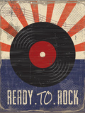 Ready to Rock Prints by ND Art