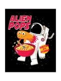 Alien Pops Posters por Michael Buxton