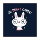 No Bunny Cares Poster por Michael Buxton