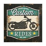 Custom Rides Julisteet tekijänä Jennifer Pugh