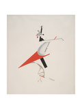 Victory Over the Sun, 7. Troublemaker Giclee-trykk av El Lissitzky